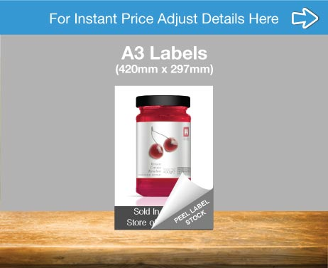 A3 Label Printing